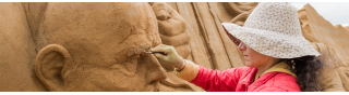 Sandskulptur Festival