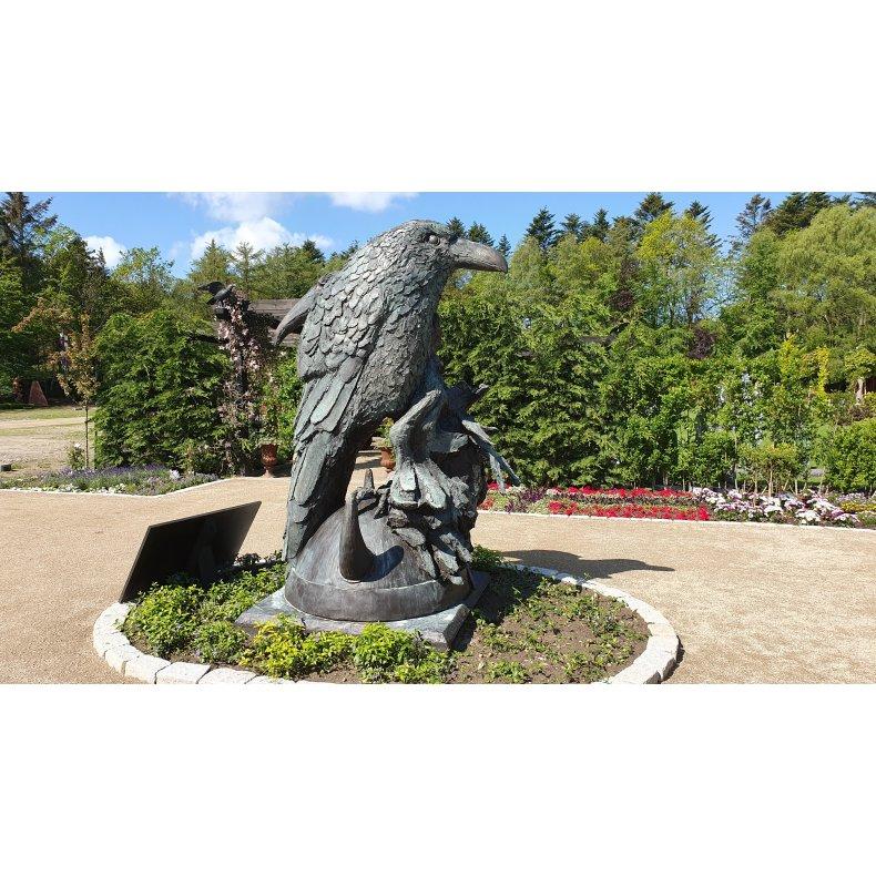 Odins Ravne Fiberskulptur