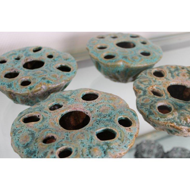 Keramik krukke el. vase